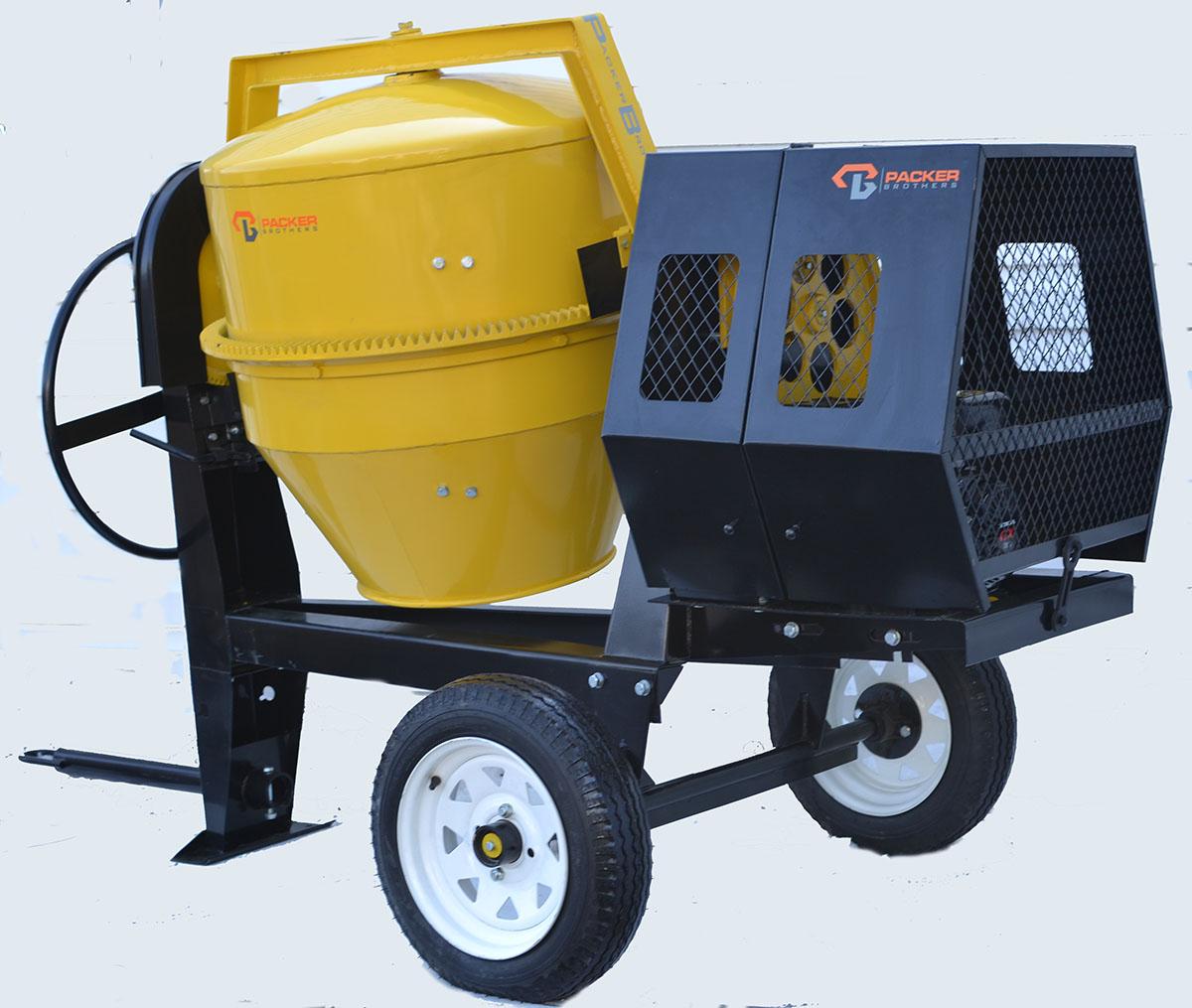 Concrete mixer pb2600 8cf diesel for Cement mixer motor for sale